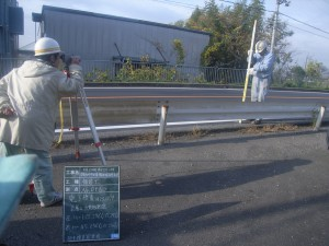 完成 県道彦根八日市甲西線  緊急地方道路整備工事