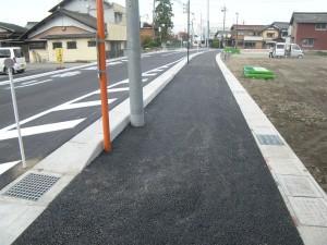 完了 町道愛知川市線道路改良工事