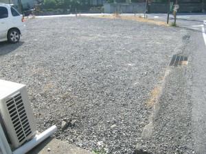 着工前 町道愛知川市線道路改良工事