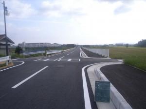 完了 町道常安寺元持線道路舗装工事