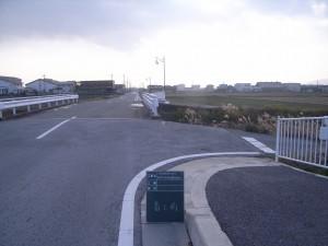 着工前 町道常安寺元持線橋梁改良工事