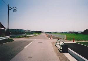 着工前 町道常安寺元持線道路舗装工事
